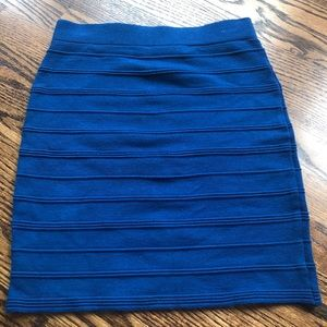Forever 21 blue bandage skirt  🔹 EUC